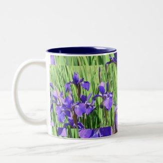 Blue Iris Mug mug
