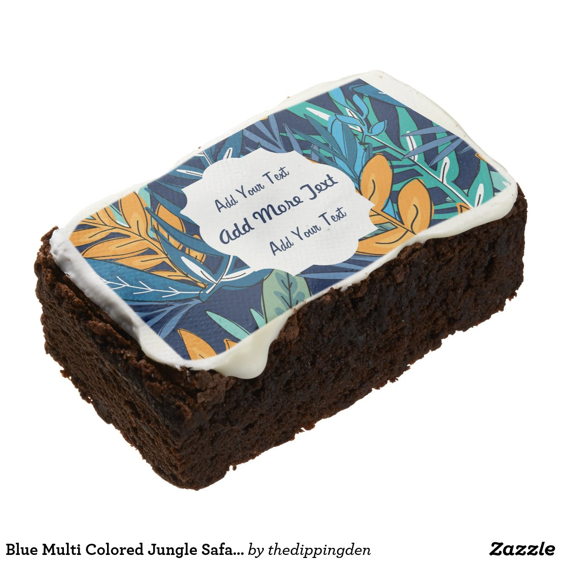 Jungle Safari Brownies