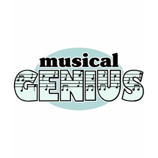 Blue Musical Genius shirt