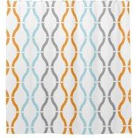 Teal Orange Yellow Curtains | Curtain Menzilperde.Net