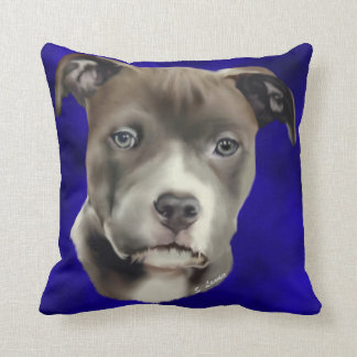 American Pit Bull Terrier Pillows  Decorative  Throw