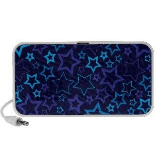 Blue Stars doodle