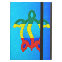 Blue Water Rasta Honu iPad Cases