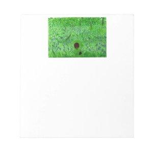 Bluebell Woodland Hedgehogs Notepad