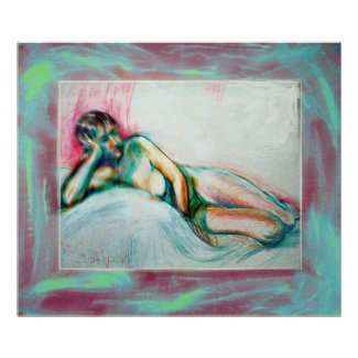 Blurry Nude zazzle_print