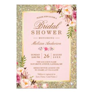 Nifty 50 S Bridal Shower Invitation