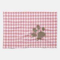 Paw Print Kitchen Towels, Paw Print Hand Towels