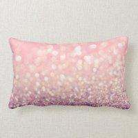 Blush Throw Pillow | Zazzle