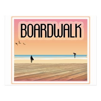 Boardwalk Postcard