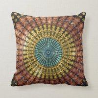 Bohemian Style Pillow | Zazzle.com