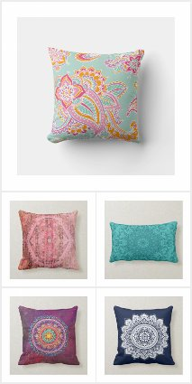 Bohemian Style Pillows
