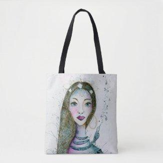 Bona Dea - Beautiful Roman Goddess Tote Bag