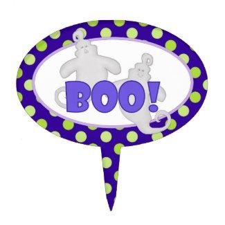Boo! Ghost Cake Picks