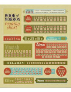 Book of mormon reading chart also day posters  photo prints zazzle rh