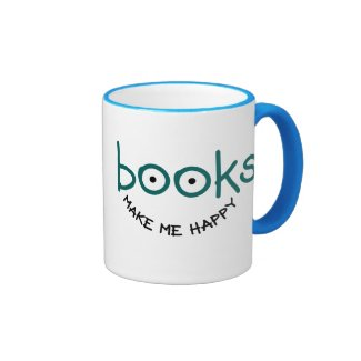 Books Make Me Happy Coffee Mug