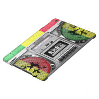 boombox reggae iPad air cover