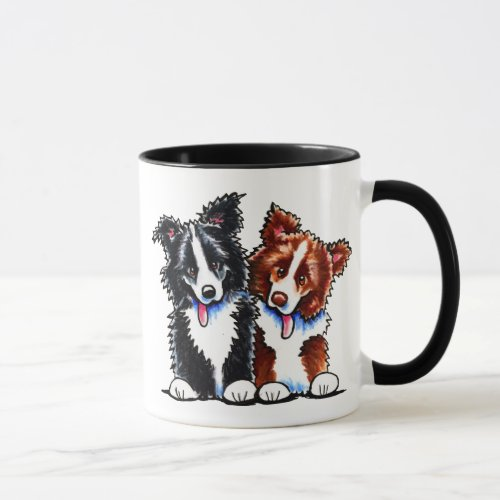 Border Collies Little League Mug