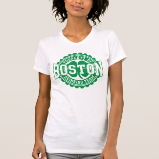 Boston Irish Drinking Team Bottle Cap Tees