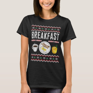 Breakfast Ugly Christmas Sweater