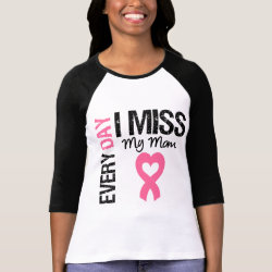 Breast Cancer Everyday I Miss My Mom Shirt