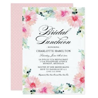 Bridal Luncheon Invitations Daisy Watercolor