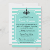 Here is a fun theme for a bridal shower that is not only classy, but a theme that everyone can enjoy! Breakfast At Tiffanys Invitations Zazzle