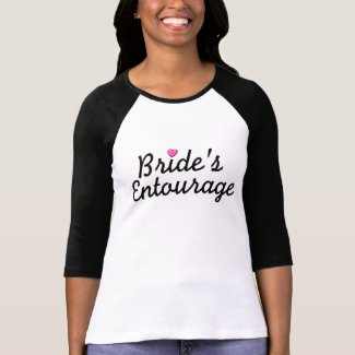 Bride's Entourage shirt