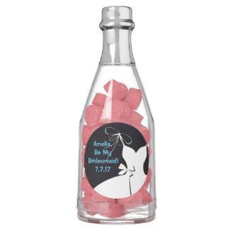 Bridesmaid Invite Bottle of Gum
