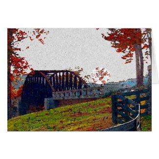 Bridges Of Reflection Card
