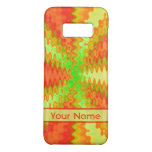 Bright Colorful Orange Yellow Green Abstract Case-Mate Samsung Galaxy S8 Case