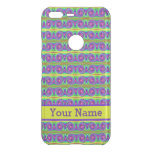 Bright colorful yellow purple curls pattern uncommon google pixel XL case