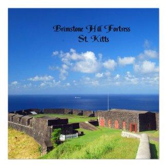 Brimstone Hill Fortress Photograph