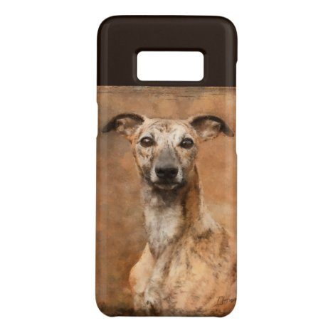 Brindle Whippet Dog Case-Mate Samsung Galaxy S8 Case