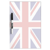 British flag dry erase whiteboard