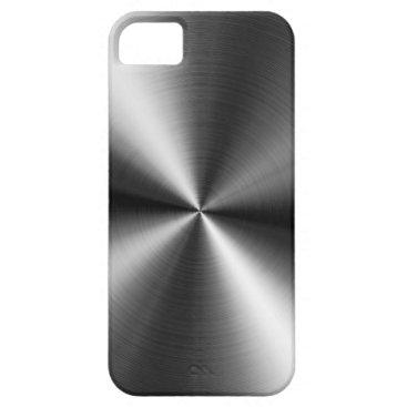 Brushed Metal Swirls iPhone SE/5/5s Case