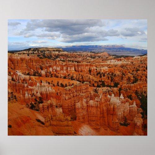Bryce Canyon Overlook, Utah Poster