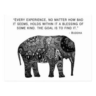 Buddha Henna Wisdom Elephant