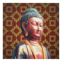 Buddha Panel Wall Art | Zazzle