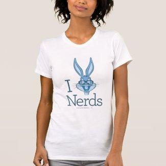 Bugs Bunny - I (Bugs) Nerds Shirts