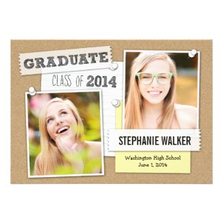 Bulletin Board Graduation Announcement