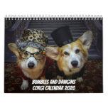 Bumbles and Dawgins Corgi Calendar 2020