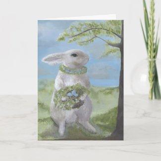 Bunny Card card
