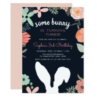 Bunny Garden | Spring Birthday Party Invitation