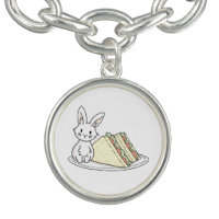 Bunny with Sandwiches Bracelet
