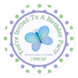 Butterfly And Polka Dot : Party Invitation