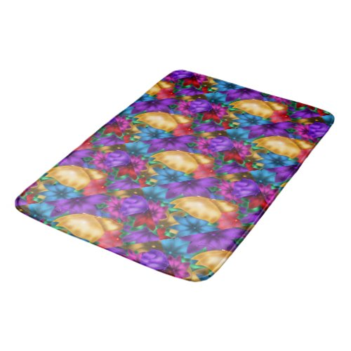 Butterfly in Paradise Bathroom Mat