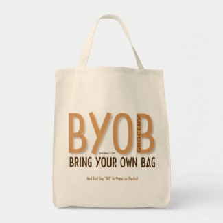 BYOB: Bring Your Own Grocery Bag 7 bag