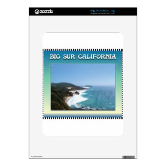 California Big Sur Ocean View II Decal For iPad