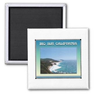 California Big Sur Ocean View II Magnet