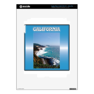 California Big Sur Ocean View iPad 3 Skins